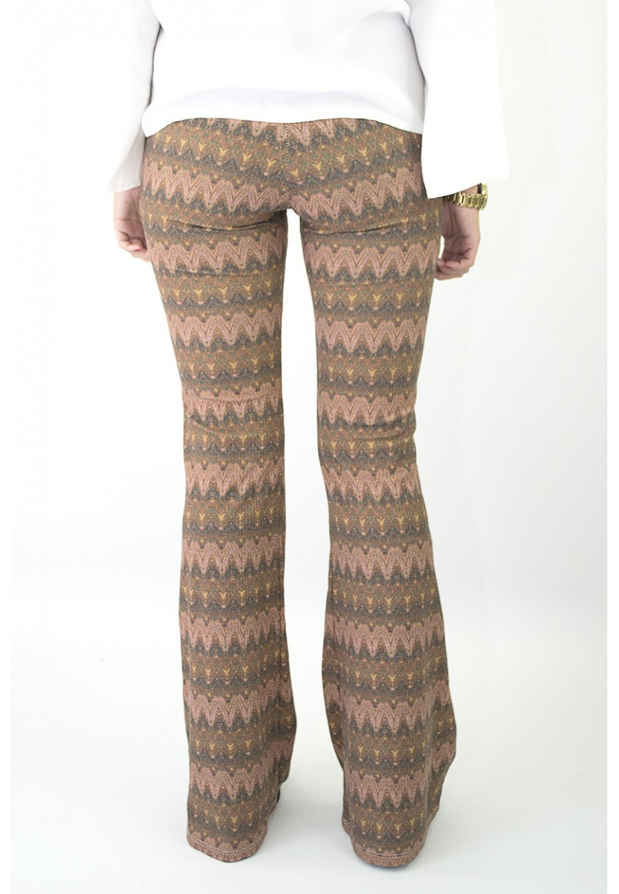 Pantalon Campana Zig Zag Dreams Moda