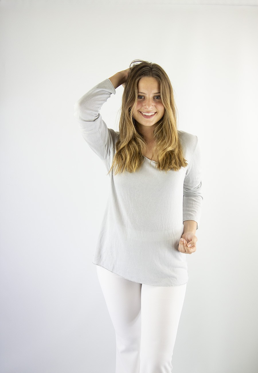 Camiseta hall gris