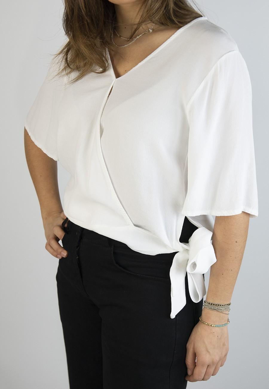 Blusa Marea blanca