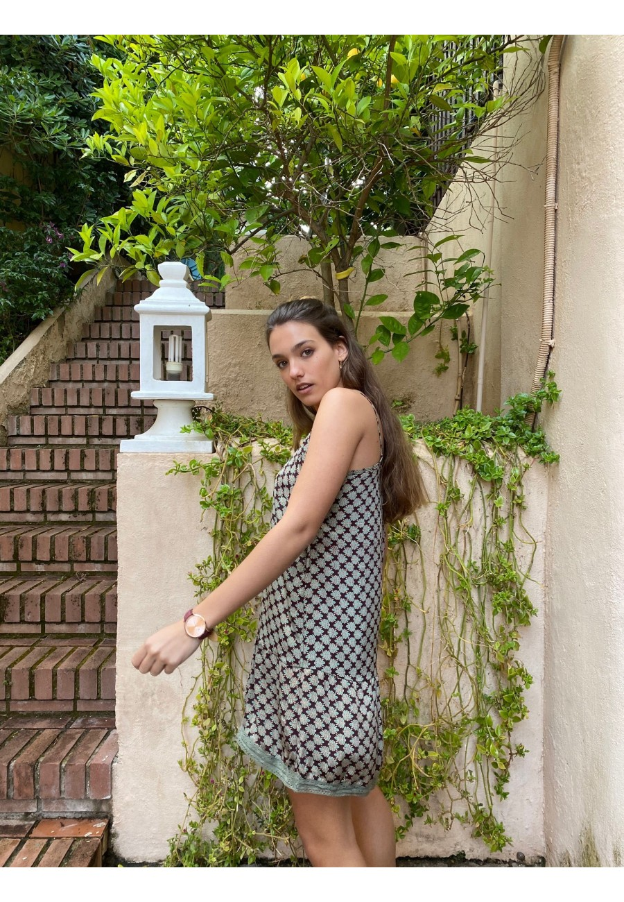 Vestido Niza estampado