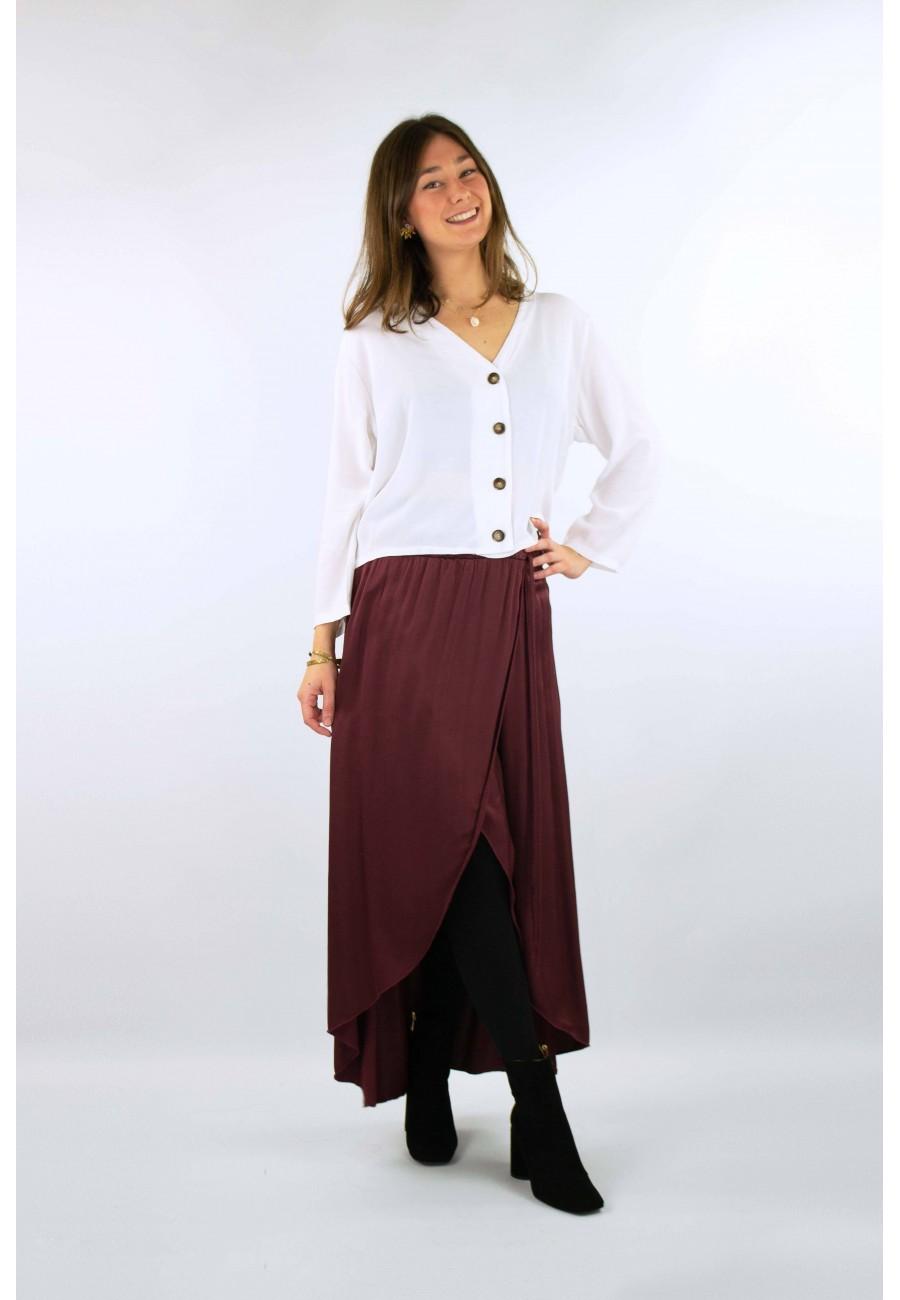 Falda larga abertura